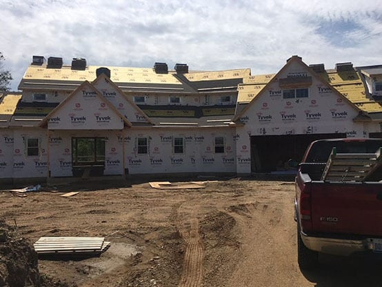 Tyvek Siding Thompson Home Improvement Roofing Project Siding
